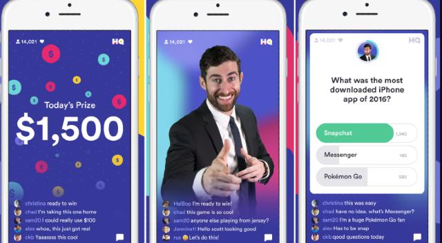 18 de diciembre 2019,App HQ Trivia, aplicación, plataforma digital, dinero, concurso, trivia
