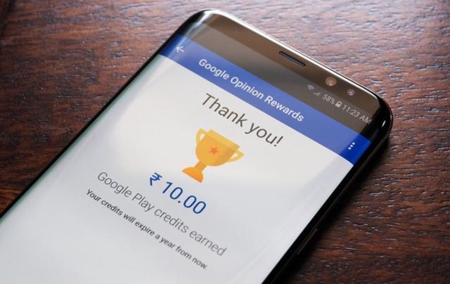 18 de diciembre 2019, Google Opinion Rewards, aplicación Google, dinero, trabajo, plataforma digital