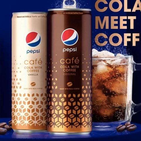 13 de diciembre 2019, Pepsi con café y cola, refresco, bebidas, bebidas azucaradas, café