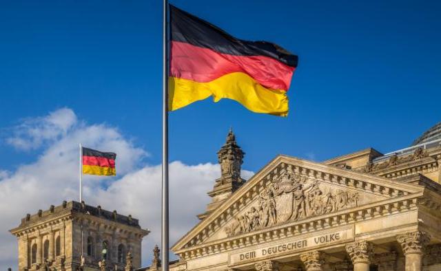 05 diciembre 2019, trabajo legal en Alemania, trabajo, bandera, Alemania, inmueble