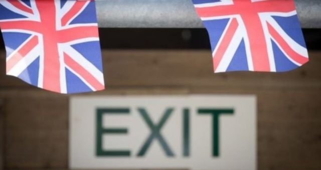sucesos, marcaron, economia global, 2019, ondean banderas de Reino Unido tras negociaciones del Brexit (Imagen: Especial)
