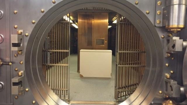 Bóveda de un banco (Imagen: Especial)