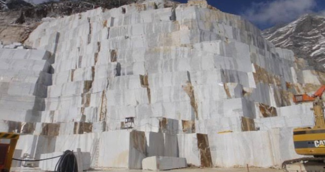 3 de enero de 2020, dinero, mármol, dinero, las canteras de Carrara (Imagen: Especial)