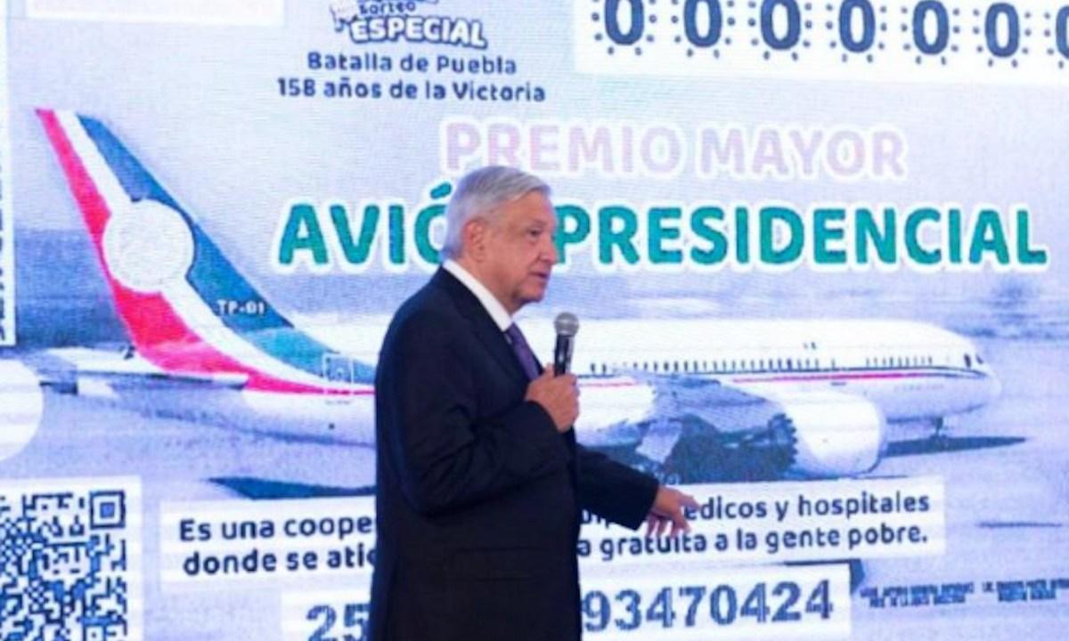 28 de enero 2020, AMLO, rifa, avión, presidencial