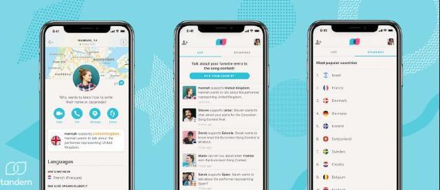 24 de enero 2020, App Tandem, Aplicación, Celular, Herramientas de idiomas