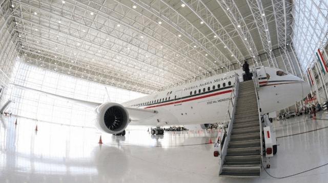28 de enero 2020, avión, presidencial