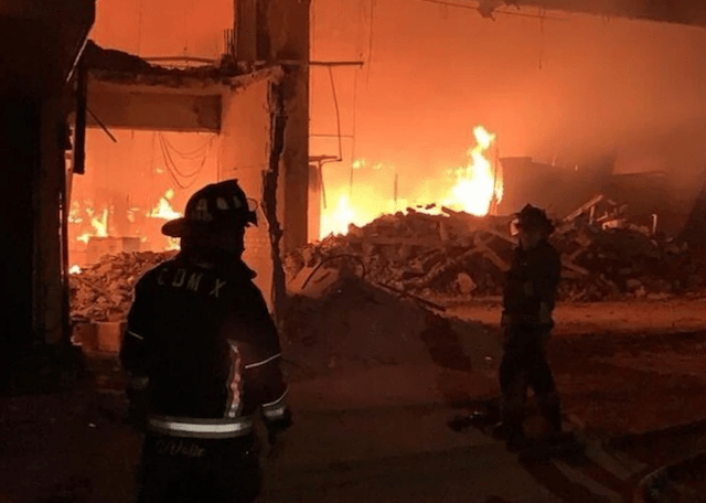 27 de enero 2020, incendio, merced