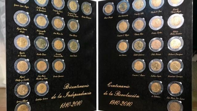 15 de enero 2020, monedas, bicentenario, centenario, 5, pesos