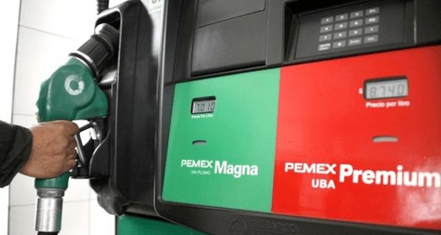 16 de enero 2020, Pemex, gasolinas