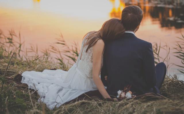 13 de enero 2020, pareja, recién, casados