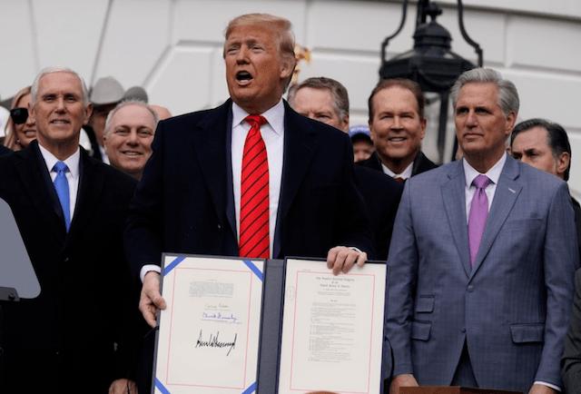 30 de enero 2020, Donald, Trump, T-mec