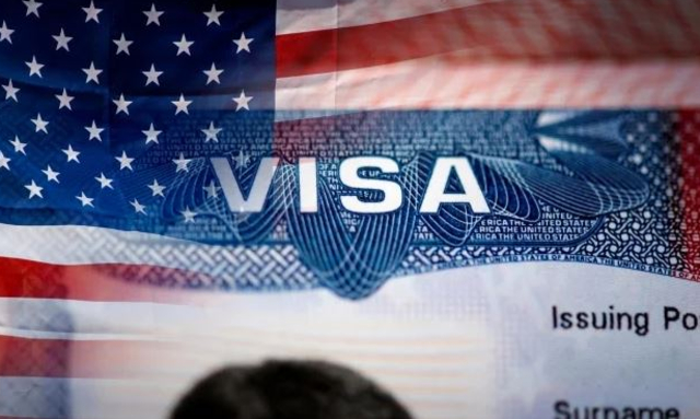 07 de diciembre 2020, Visa de Estados Unidos, Estados Unidos, Bandera, Visa, Documento, Documentos personales