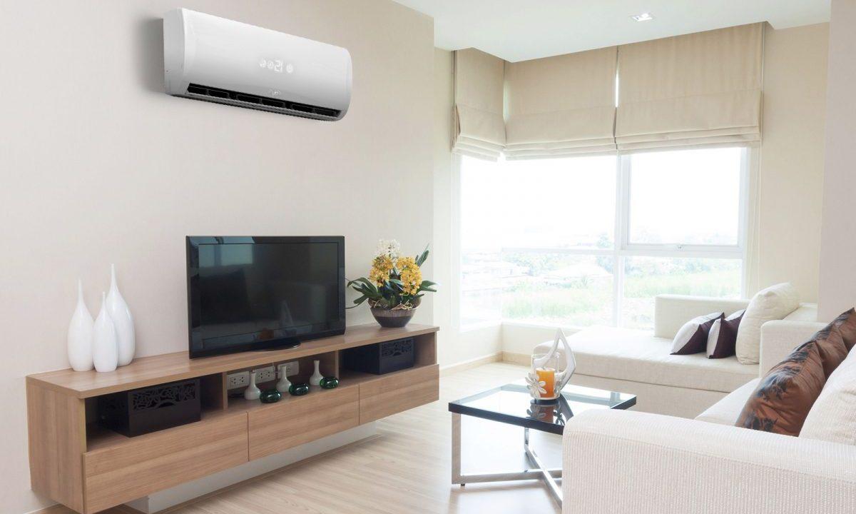 3 de enero de 2020, aire acondicionado, dinero, aire acondicionado en la sala de una casa (Imagen: Especial)