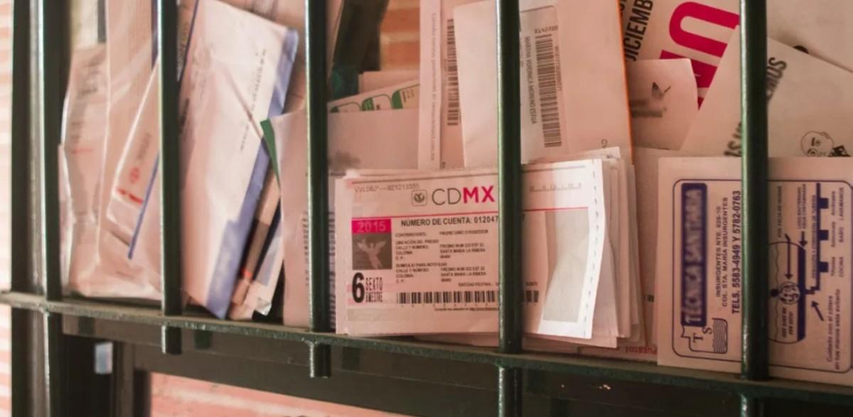 8 de enero de 2020, recibos del predial en la CDMX (Imagen: Especial)