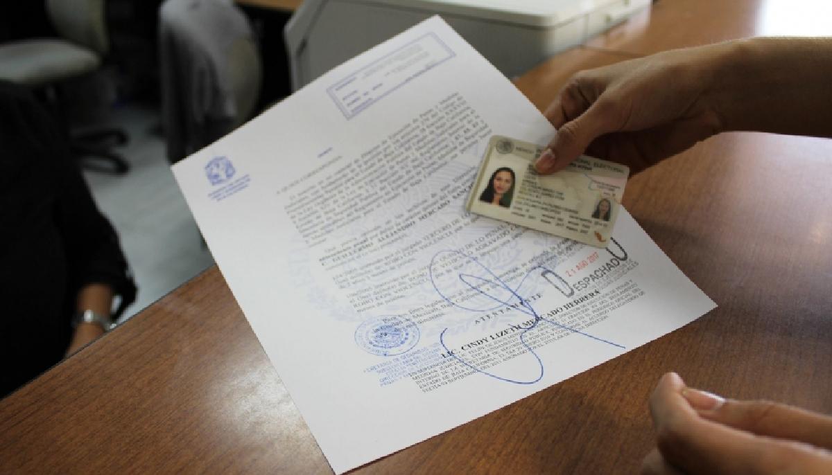 27 de febrero 2020, Constancia de Antecedentes no Penales, Documentos Personales, Documento, Identificación