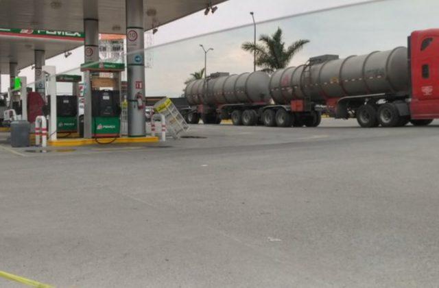 21 de febrero de 2020, abasto de gasolinera en la CDMX (Imagen: Twitter @airamanide)