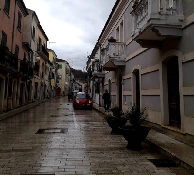 20 de febrero de 2020, Calles de Teora, Italia (Imagen: Instagram @eleonora40zoppi)