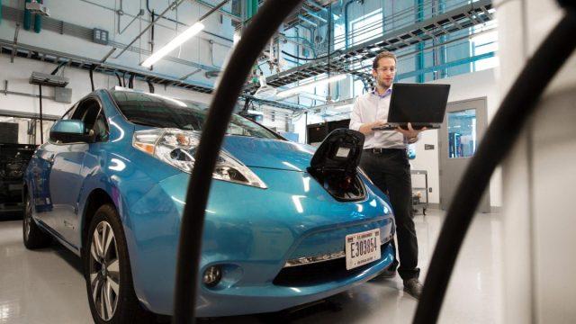 28 de febrero de 2020, automóvil eléctrico (Imagen: Unsplash)