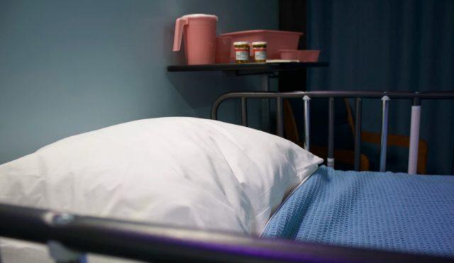 21 de febrero de 2020, cama en un hospital (Imagen: Unsplash)