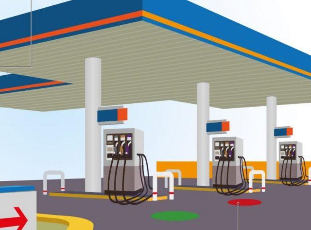 11 de febrero de 2020, despachan gasolina (Imagen: Twitter @CRE_Mexico)