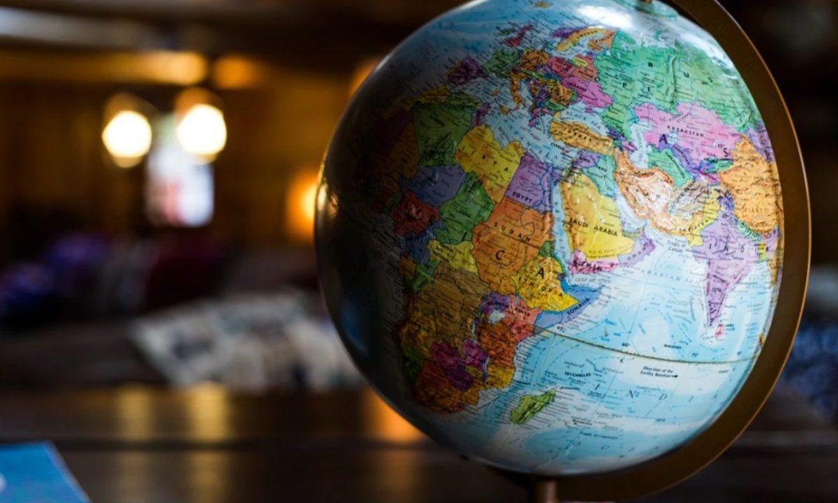 7 de enero de 2020, un globo terráqueo (Imagen: Unsplash)