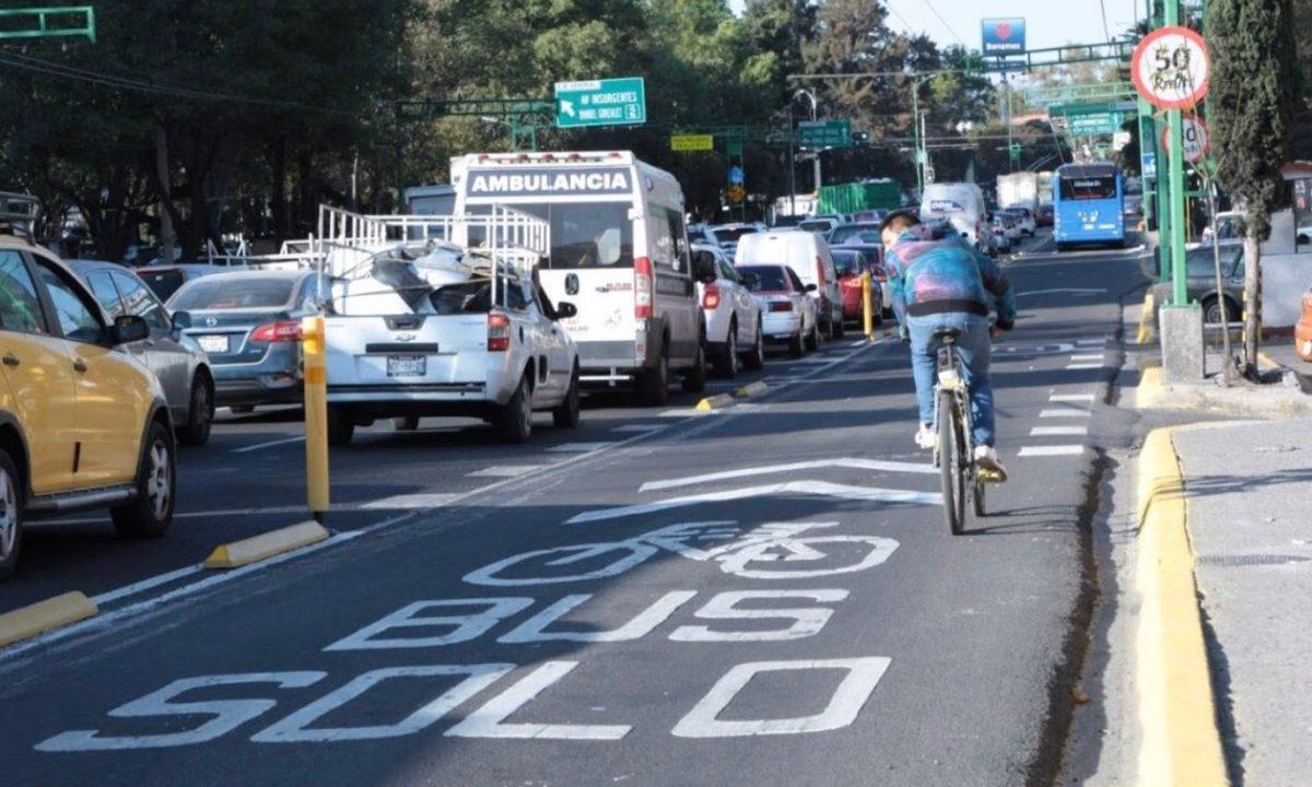 18 de febrero de 2020, movilidad de transporte en CDMX (Imagen: Twitter @LaSEMOVI)