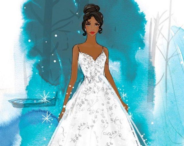 20 de febrero de 2020, planes de vestidos de novia de Disney (Imagen: Instagram @disneyweddings)