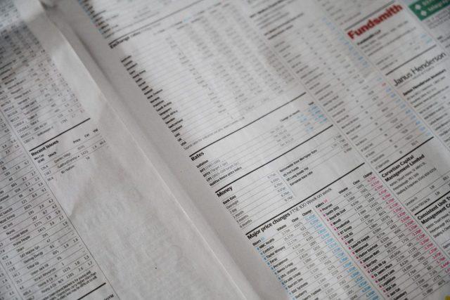 11 de marzo de 2020, lectura de acciones en bolsas de valores (Imagen: Unsplash)