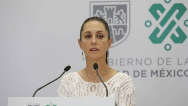 25 de marzo de 2020, la jefa de Gobierno de la CDMX, Claudia Sheinbaum (Imagen: Facebook Claudia Sheinbaum)