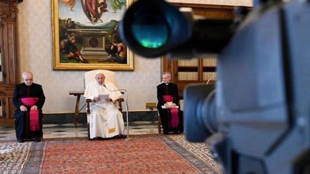 El papa Francisco da un mensaje en el Vaticano (Imagen: Instagram @franciscus)