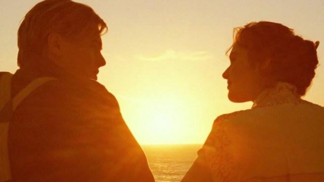 Titanic y la historia de amor de Rose y Jack Dawson (Imagen: Twitter @AestheticMov1es)