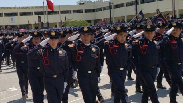 Policías de la CDMX (Imagen: Twitter @SSC_CDMX)