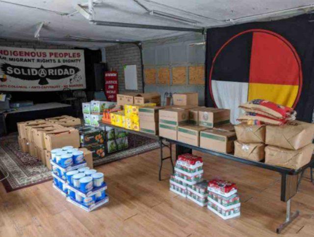 Nativos de Estados Unidos reciben donativos (Imagen: gofundme)
