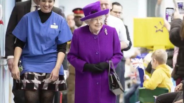Reina Isabel II (Imagen: Twitter @KensingtonRoyal)
