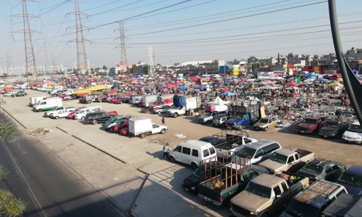 Mercados y Tianguis en la CDMX (Imagen: Twitter @luisghernan)