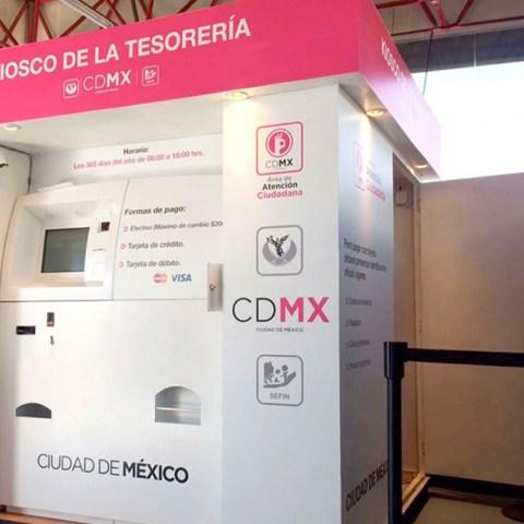 Kioscos de la Tesorería, CDMX, Documentos Personales, Acta de Nacimiento