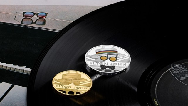 Moneda de Elton John, Elton John, Moneda, Homenaje