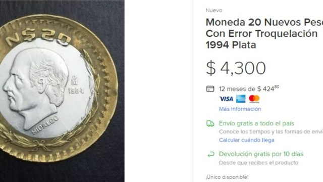Moneda de Nuevos Pesos, Monedas, Nuevos Pesos, Moneda, Dinero, Pesos