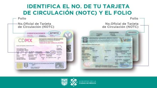 Tarjeta de Circulación, Trámites, Documentos, Trámites en Línea, CDMX