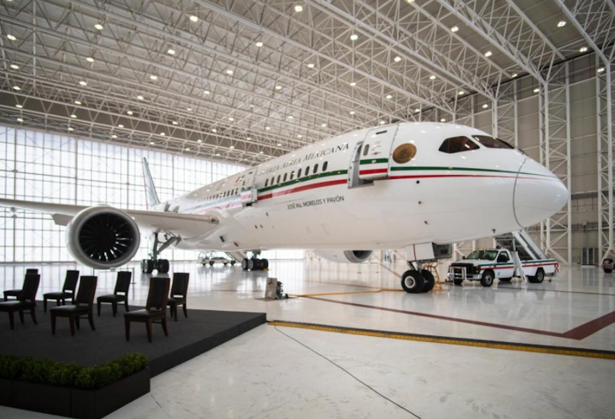 Avión presidencial (Imagen: lopezobrador.org)