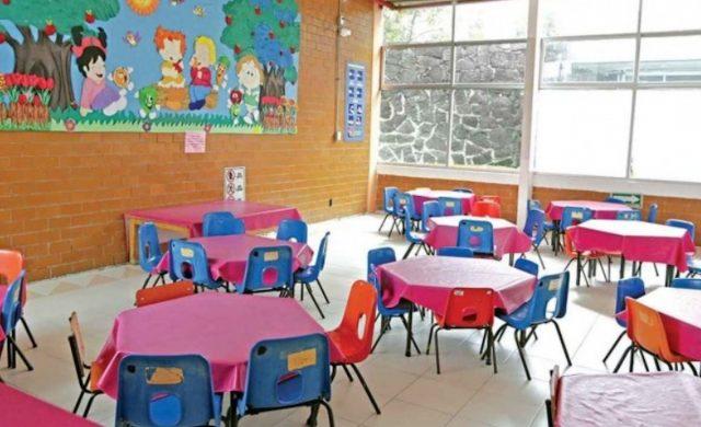 Comedores de niños en guardería del IMSS (Imagen: Twitter @RIDNoticias)