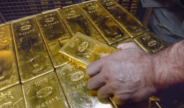 Lingote de oro (Imagen: laliberte.ch)