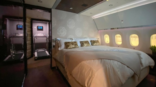 Lujos del avión presidencial (Imagen: lopezobrador.org)