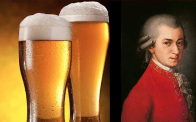 Cerveza que esucha a Mozart (Imagen: Twitter @coolradio1037)