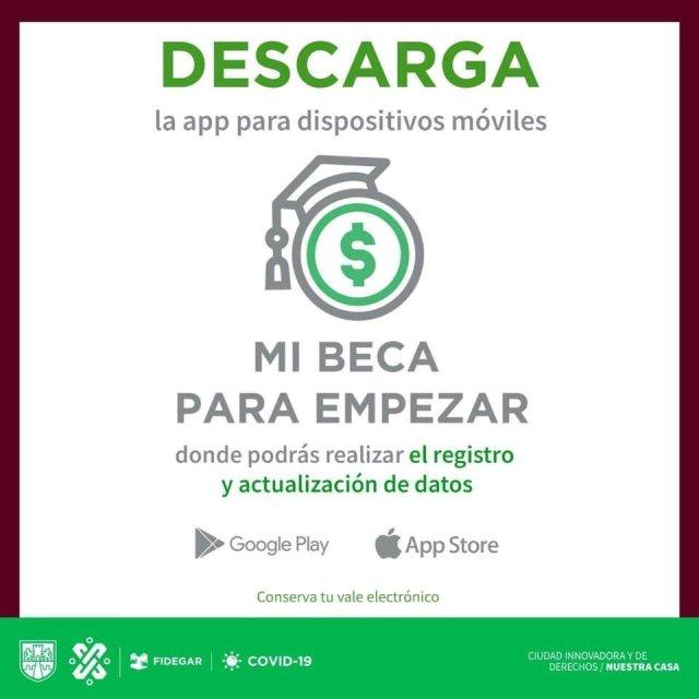 Así puedes registrarte a Mi Beca Para Empezar desde la aplicación