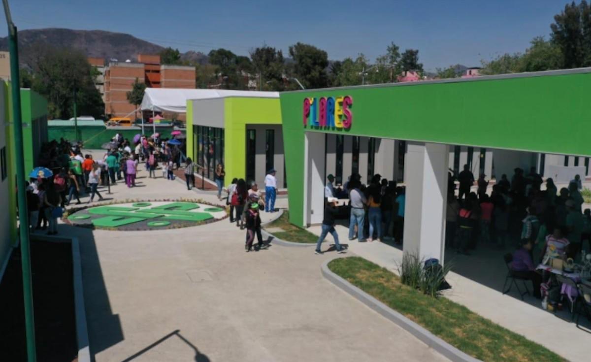 Edificios de Pilares (Imagen: Twitter @Claudiashein)