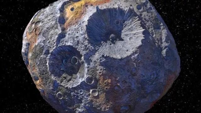 Asteroide de Oro, NASA, Asteroide
