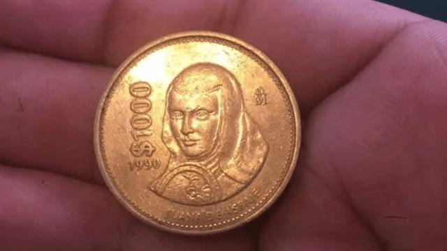 Moneda de Sor Juana de Asbaje