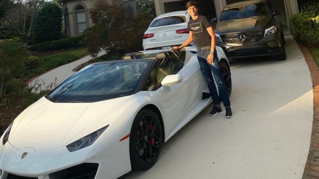 Jürgen Damm explica cómo fue que compró su Lamborghini