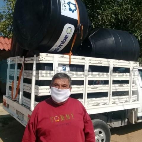JMAS de Chihuahua impulsa el programa Tinacos Covid